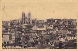Brussel, Bruxelles, Eglise Sainte Gudle Et Panorama (pk39902) - Panoramische Zichten, Meerdere Zichten
