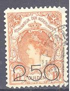 Pays Bas: Yvert N° 96° Beau Mais Clair - 1891-1948 (Wilhelmine)