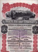 Brazil Railway Company - 1912 - Textil