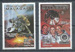 Madagascar YT N°990/991 Astronautique Neuf ** - Madagascar (1960-...)