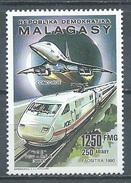 Madagascar YT N°992 Concorde Et ICE Allemand Neuf ** - Madagascar (1960-...)