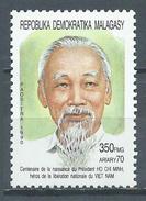 Madagascar YT N°977 Ho Chi Minh Neuf ** - Madagascar (1960-...)