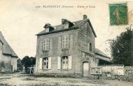 BLANDOUET Mairie Et école - France