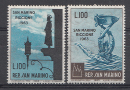 Saint-Marin 1963 Mi.nr: 774-775 Briefmarkenausstellung  NEUF Sans CHARNIERE / MNH / POSTFRIS - Neufs