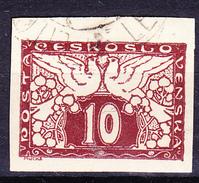 Tschechoslowakei CSSR - Zeitungsmarke (MiNr: 195x) 1920 - Gest Used Obl - Timbres Pour Journaux
