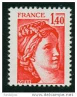 2102a Sabine 1.40 Rouge GM - Sans Phospho - Gomme Semi Brillante TD6-4 - France