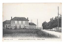 (17533-78) Achères La Forêt - Ecoles Et Mairie - Acheres
