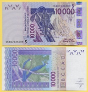 West African States 10000 (10'000) Francs Guinea-Bissau (S) P-918S 2016 UNC - West African States