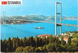 ISTANBUL TURKIYE BOGAZ KOPRUSU 1988 - Turchia