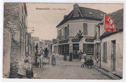 CPA - 78 - MANTES-GASSICOURT - Rue Marceau - Francia