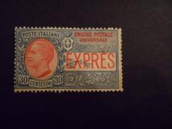 REGNO  ESPRESSO  UPU CENT 30 NUOVO - 1900-44 Vittorio Emanuele III