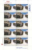 Iceland 2013 MNH Minisheet Of 10 Aldeyjarfoss (waterfall) - Tourism - Géologie