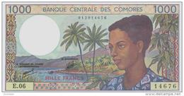 COMOROS P. 11b 1000 F 1997 AUNC - Comoros