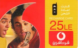 TARJETA TELEFONICA DE EGIPTO (PREPAGO - VODAFONE) (386) - Egipto