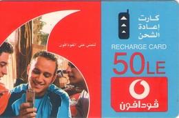 TARJETA TELEFONICA DE EGIPTO (PREPAGO - VODAFONE) (388) - Egipto