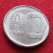 Argentina 10 Australes 1989  Argentine Argentinie UNCºº - Argentine