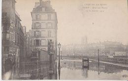Crue De La Seine - Paris - Quai Aux Fleurs - Le 30 Janvier 1910 - ELD - Arrondissement: 04