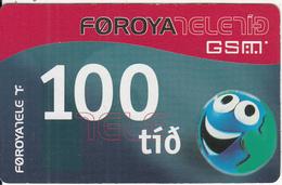 FAROE ISL. - Faroe Telecom Prepaid Card KR 100, Exp.date 01/07/06, Used - Faroe Islands