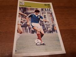 Svijet Sporta Card - Ivan Buljan, NK Hajduk - Calcio