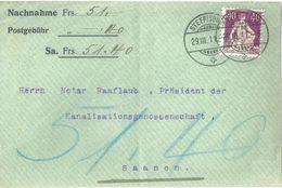 NN Briefvs  Steffisburg - Saanen              1911 - Briefe U. Dokumente