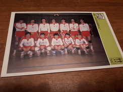 Svijet Sporta Card - Volleyball, Special Issued 1981, OK Vojvodina - Volleyball