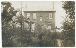Rear Of Unidentified House With Branch Arches - England