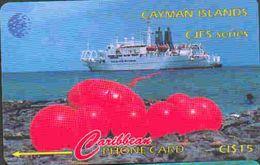 TK 29137 CAYMAN ISLANDS - 131CCID... Cayman - Jamaica Fibre System - Kaimaninseln (Cayman I.)