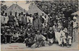 CPA Cap Vert Cabo Verde Prisonniers Non Circulé Colonie Portugal - Cap Vert