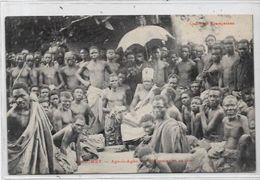 CPA Dahomey Le Roi Ago Li Agbo Non Circulé - Dahomey