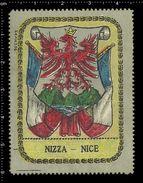 German Poster Stamps, Reklamemarke, Vignette, Coat Of Arms, Wappen, Nizza, Nice, France, Frankreich - Stamps