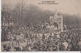 Mi-Carême 1907 - Char Du IVe Arrondissement - ELD - Arrondissement: 04