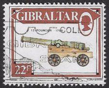 Gibraltar SG577 1987 Guns 22p Good/fine Used [27/23822/2D] - Gibraltar