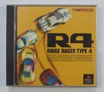 PS1 Japanese : R4: Ridge Racer Type 4 SLPS-01800~1 - Sony PlayStation
