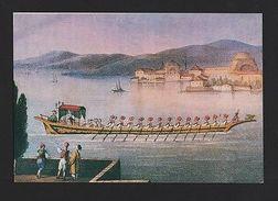 EXPO 98 LISBON ADVERT ART POSTCARD TURKEY OTTOMAN IMPERIAL CAIQUES Boat Z1 - Postcards