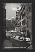 INNSBRUCK AUSTRIA 1950years Postcard  64 Stamp CARS CAR AUTOMOBILES  Z1 - Postcards