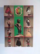 Manneken Pis ART POSTCARD BRUSSELS BELGIUM BELGIE BELGIQUE Z1 - Postcards