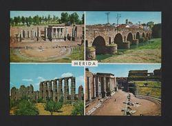 Postcard 1960years SPAIN MERIDA EXTREMADURA ROMAN  THEATRE HISTORY ARCHEOLOGY - Postcards