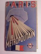 Plan Du Métropolitain Et De PARIS Exposition Universelle 1937  + 1 Petit Format Métro/ Expo - Europe