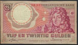 °°° NETHERLANDS - 25 GULDEN 1955 °°° - [2] 1815-… : Regno Dei Paesi Bassi