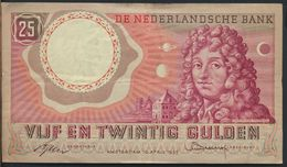 °°° NETHERLANDS - 25 GULDEN 1955 °°° - [2] 1815-… : Koninkrijk Der Verenigde Nederlanden