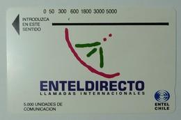 CHILE - Tamura - D4 - Enteldirecto - Silver Reverse - Used - Chile