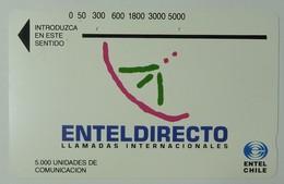 CHILE - Tamura - Enteldirecto - 5000 Units - Brown Reverse - Used - Chile