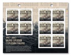 2017 Canada Halifax Desaster Ship Accident Full Booklet Permanent Rate MNH - Carnets Complets
