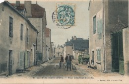 G119 - 21 - IS-SUR-TILLE - Côte-d'Or - Rue Général-Bouchu - Is Sur Tille