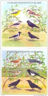 2002. Turkmenistan, Birds Of Turkmenistan, 2 Sheetlets, Mint/** - Turkmenistán
