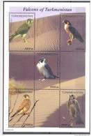 2000.  Turkmenistan, Falcons Of Turkmenistan, S/s, Mint/** - Turkménistan