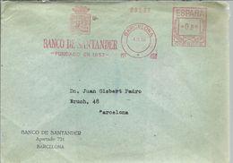 CARTA FRANQUEO MECANICO 1966 - Affrancature Meccaniche Rosse (EMA)