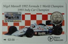 ISLE OF MAN - GPT - Nigel Mansell 1992 Formula 1 Champion - 23IOMA -  Mint - Isle Of Man