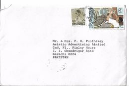 Thailand Airmail 1981 International Year Of Disabled Persons, 1982 King Bhumibol Adulyadej Postal History Cover - Thailand