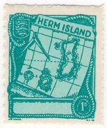 (I.B) Cinderella Collection : Herm Island 1d - 1952-.... (Elizabeth II)